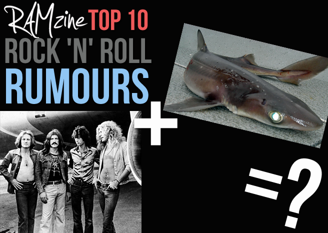 RAMzine's Top Ten Rock 'n' Roll Rumours