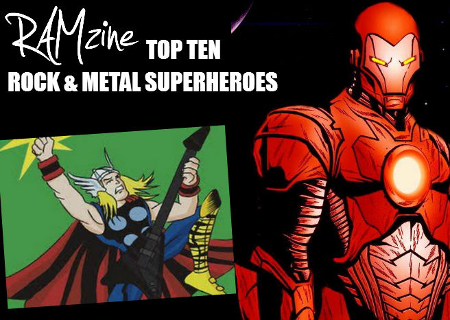 RAMzines Top Ten Rock & Metal Superheroes