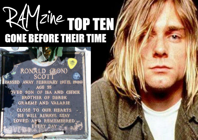 RAMzine Top Ten Gone Before Their Time