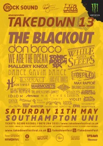 Takedown festival as of March 8th