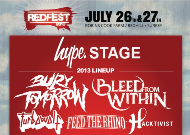 Two more bands added to Redfest main stage