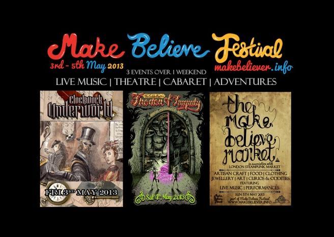 Make Believe Festival release event details