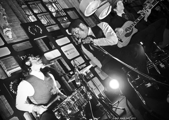 Vintage Trouble LIVE @ St. Pancras Renaissance Hotel