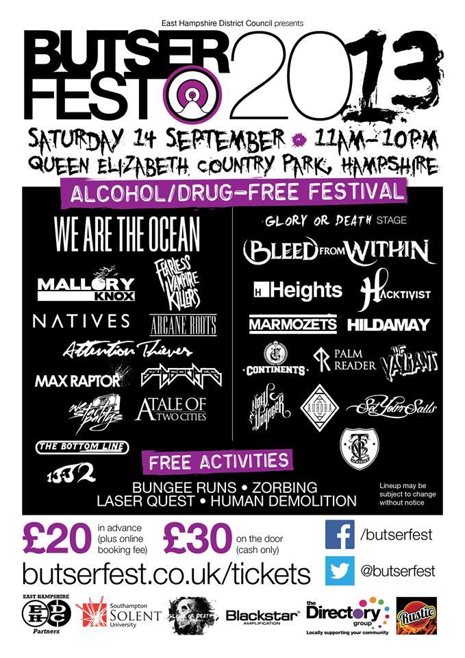 Butserfest 2013 Final Poster