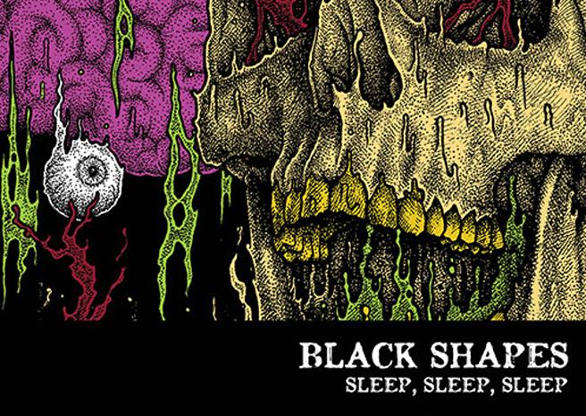 Black Shapes 'Sleep, Sleep, Sleep'