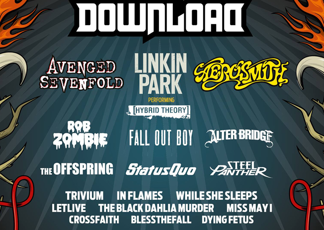 Download Festival 2014 reveal 23 new acts