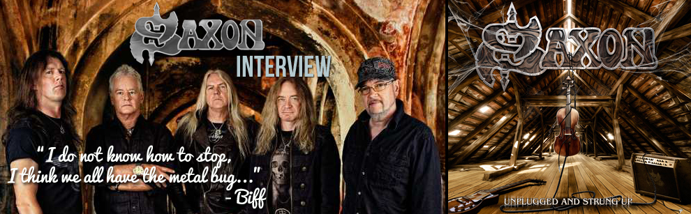 Interview with Biff from Saxon