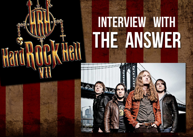 Interview with The Answer @ Hard Rock Hell 2013