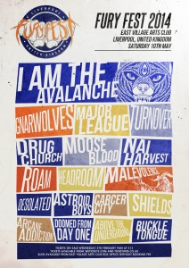 furyfest 2014 poster