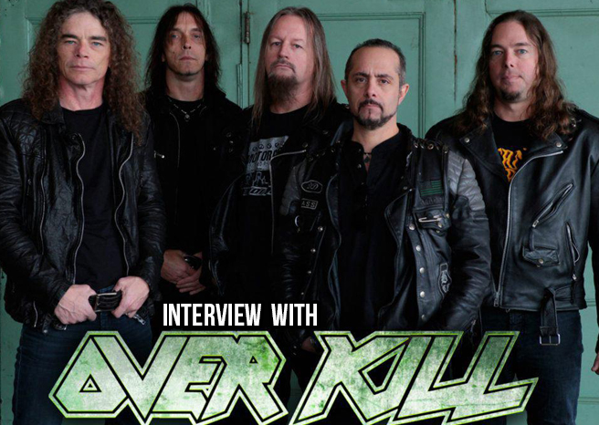 Interview with Overkill at Hammerfest