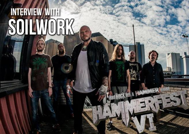 Interview with Soilwork at Hammerfest