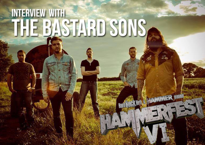 Interview with The Bastard Sons at Hammerfest