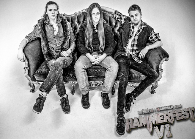 Interview with The Vintage Caravan at Hammerfest