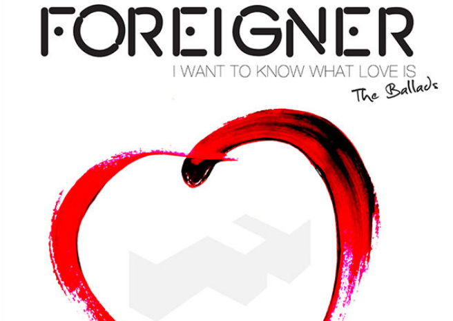 Foreigner – I Want To Know What Love Is (And All The Ballads)