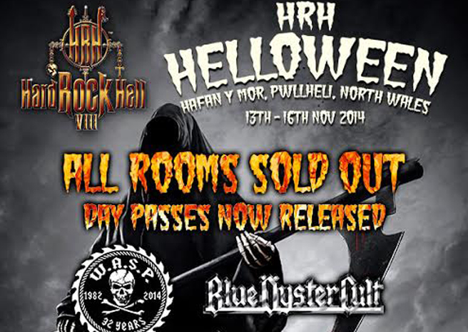 Hard Rock Hell announces 10 hot new acts from across the globe including Truckfighters, Big Elf & Massive.