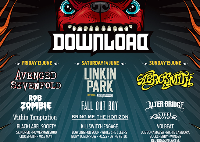 Top 10 Moments from Download Festival 2014