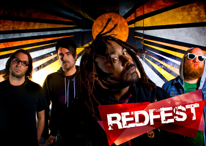 Interview with Skindred at Redfest