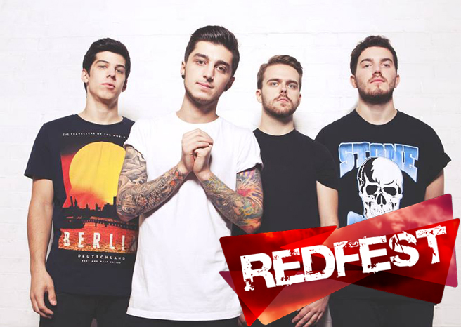 Interview with The One Hundred at Redfest