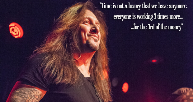 Interview with Skid Row's Dave 'The Snake' Sabo