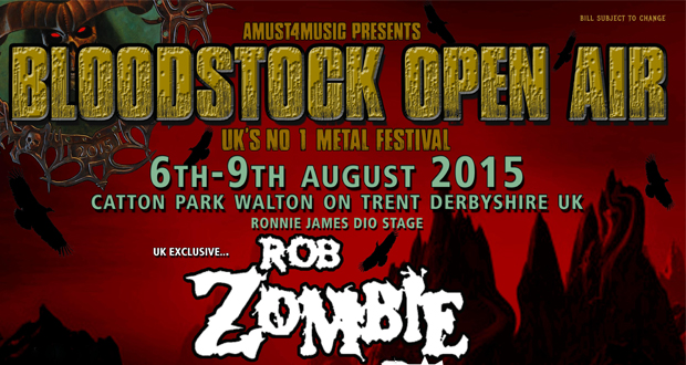 BLOODSTOCK announces TRIVIUM, SABATON and AGALLOCH for 2015!