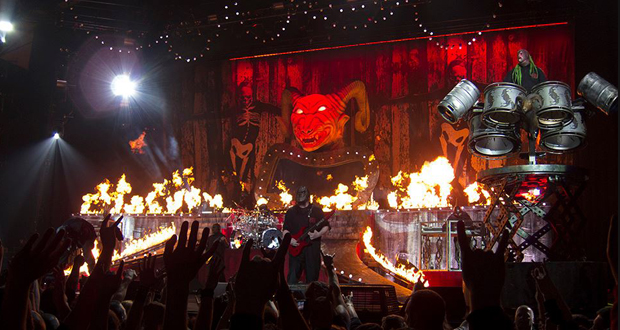 Slipknot   Korn @ Manchester Arena – 20th January 2015: Surfacing ...