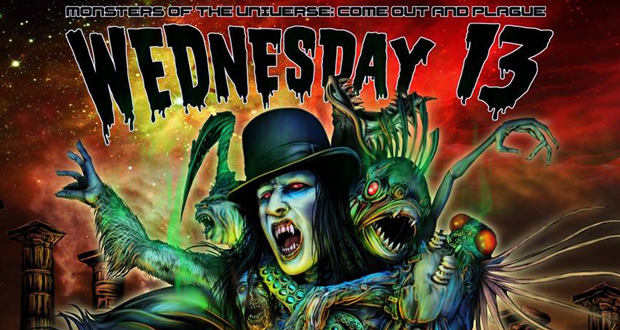 Wednesday 13 announces London Halloween shows
