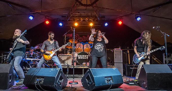 Live Review: StoneWire / Skinny Molly – Robin 2, Bilston