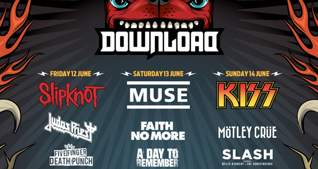 On site activities at Download Announced