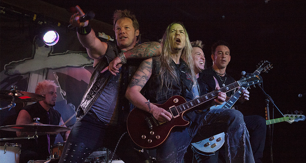 Photos: Fozzy – The Dirty Youth – Malrun – in Wolverhampton