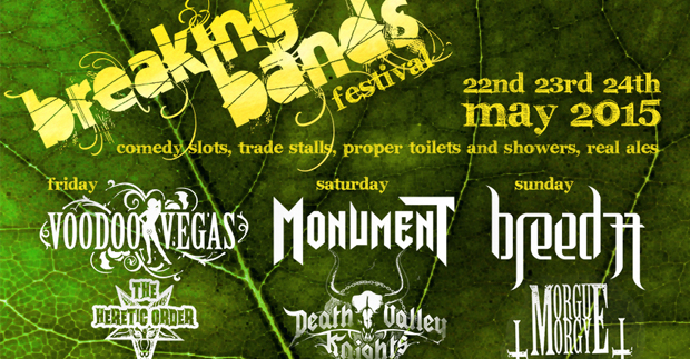 Breaking Bands Festival – Sold Out!