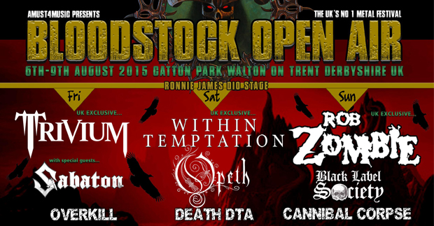 Bloodstock announce new bands & clubnights