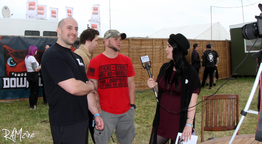 Backstage interview with All That Remains.