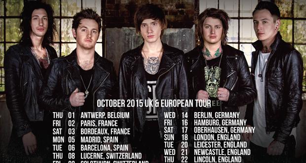 Asking Alexandria Announce UK Tour