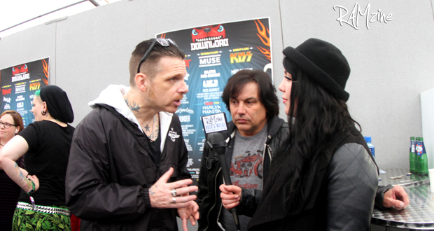 Interview with Black Star Riders at Download Festival