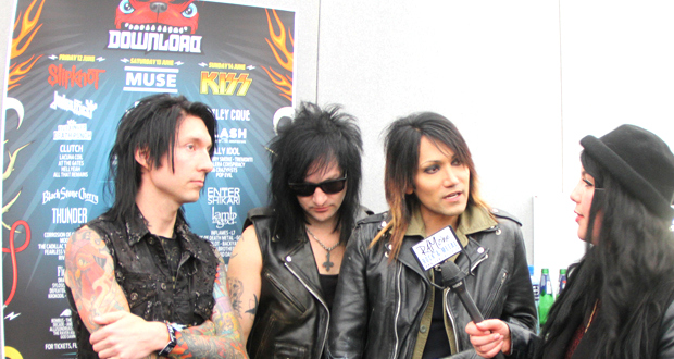 Interview with Black Veil Brides at Download Festival