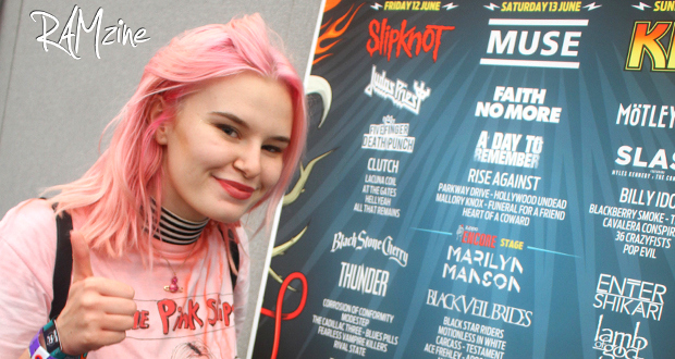 Interview with The Pink Slips at Download Festival 2015