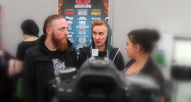 Interview with Heart Of A Coward at Download Festival