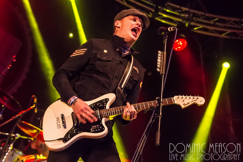 Alkaline Trio at 2000trees 2015 - credit Dom Meason