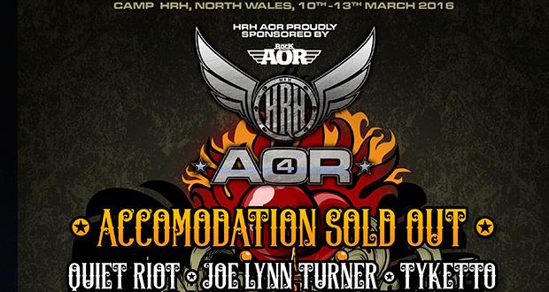 Jettblack & Black Rain to play HRH AOR Festival!