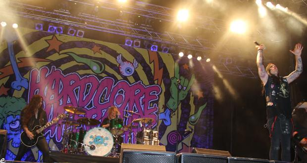 Interview with Hardcore Superstar at MetalDays 2015