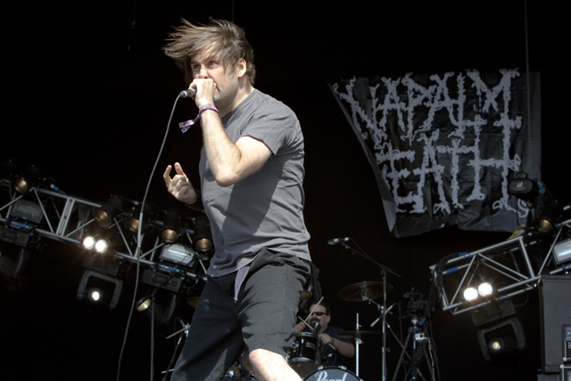 Napalm Death (Photo: Mark Lloyd)