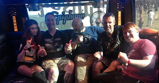 Interview: Lawnmower Deth at Bloodstock 2015 (Audio)