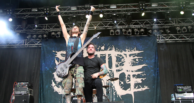 Interview with Suicide Silence at MetalDays 2015