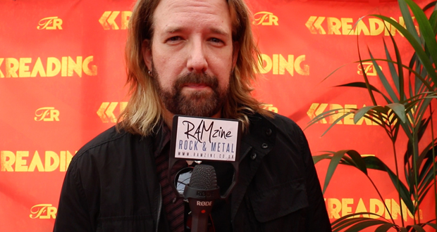 Interview: John Humphrey of Seether at Reading Festival