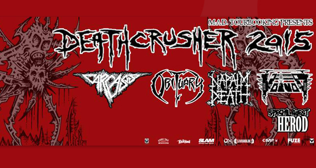 Live review: Deathcrusher Tour, The Forum, Kentish Town London