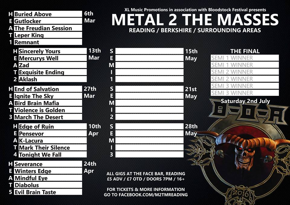 Metal 2 The Masses