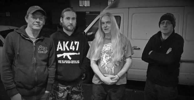 British Death Metal royalty join forces for new band Memoriam.