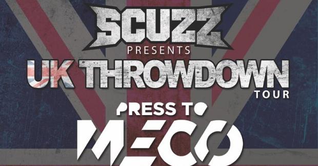Scuzz present The UK Throwdown Tour