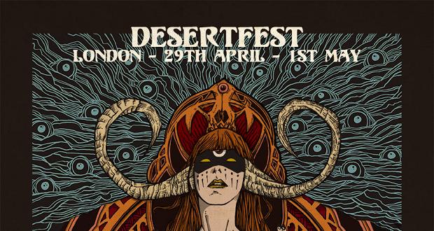 Desertfest sponsor Raging Speedhorn / Monster Magnet Split EP