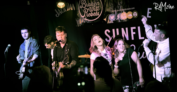 Broken Witt Rebels, The Sunflower Lounge, Birmingham, April 2016